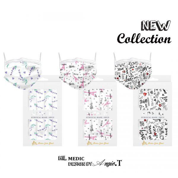 Minimalist theme special edition designer mask 10s HiL Medic CNY MAsk Surgical Mask ASTM3