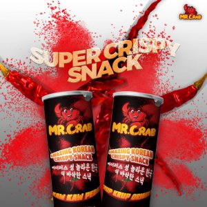 Mr Crab Amazing Korean Crispy Snacks