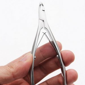Parents Professional Thick Nail Cocoon Scissors With Oblique Blade