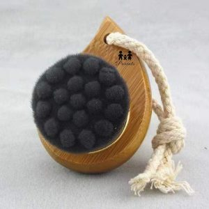 Black Carbon Fiber Washbrush