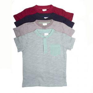 LYFE Kids Front Pocket Polo T-shirt