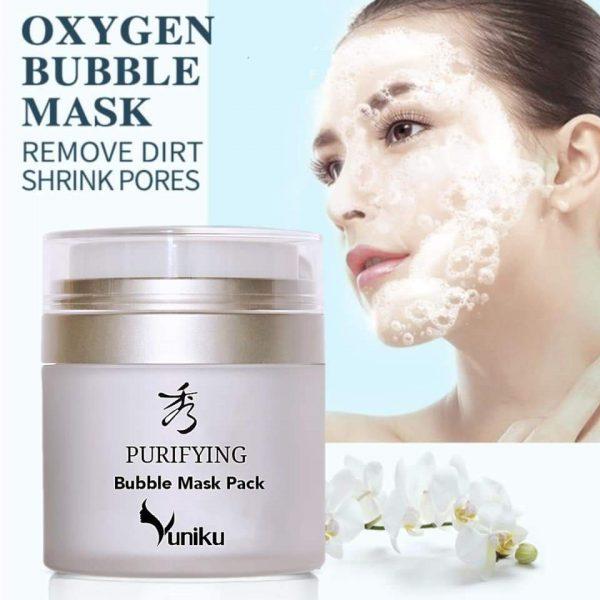 oxygen facial bubble mask