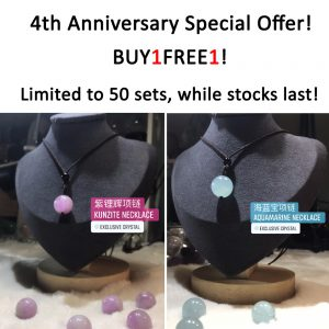 natural crystal necklaces good deal