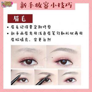 eyebrow extender